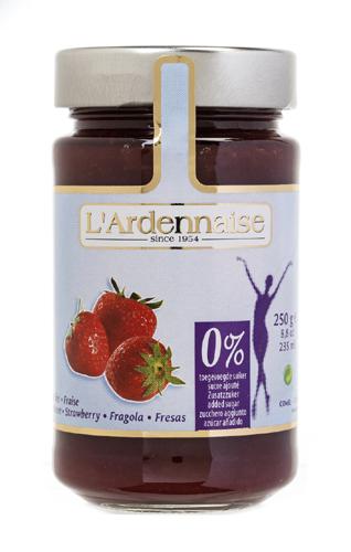 confiture de fraise sans sucre ajoute